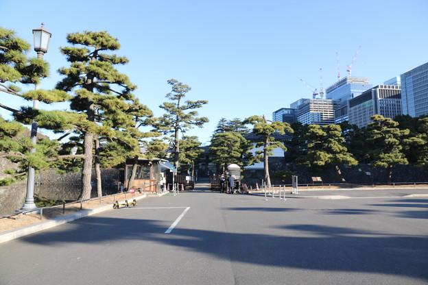 190107-19はとバス・東京1日・皇居・桔梗門(内桜田門)