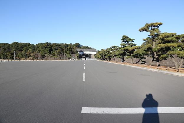 190107-20はとバス・東京1日・皇居・坂下門方向