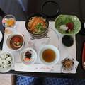 写真: 190107-61はとバス・東京1日・お台場・グランドニッコー東京台場ホテルでの昼食