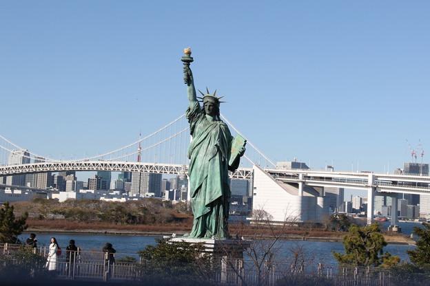 190107-93はとバス・東京1日・お台場・自由の女神?