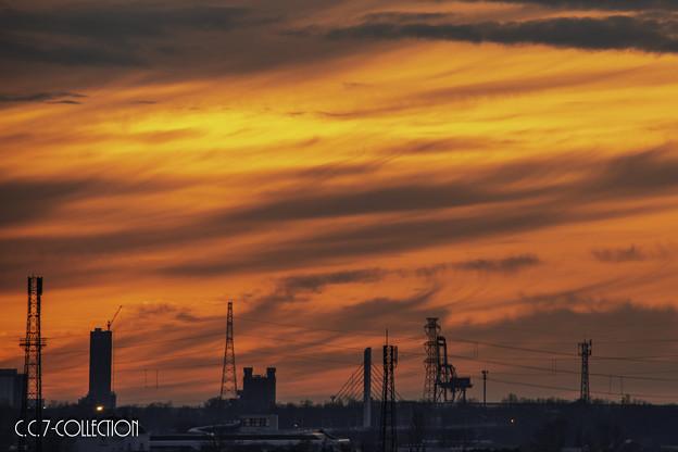 写真: 炎雲