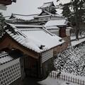 Photos: 雪の金沢城址