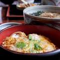 Photos: 親子丼とかけそば