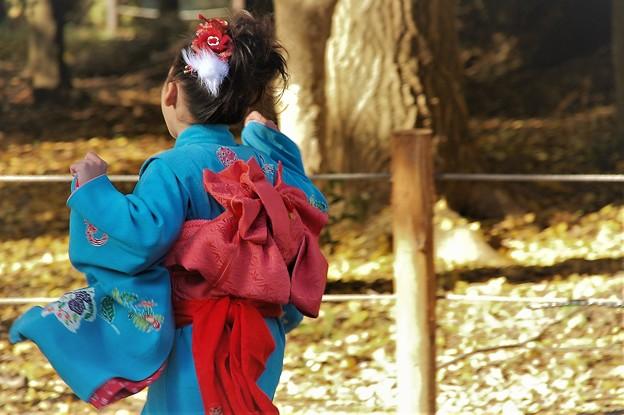 Photos: 走る七歳