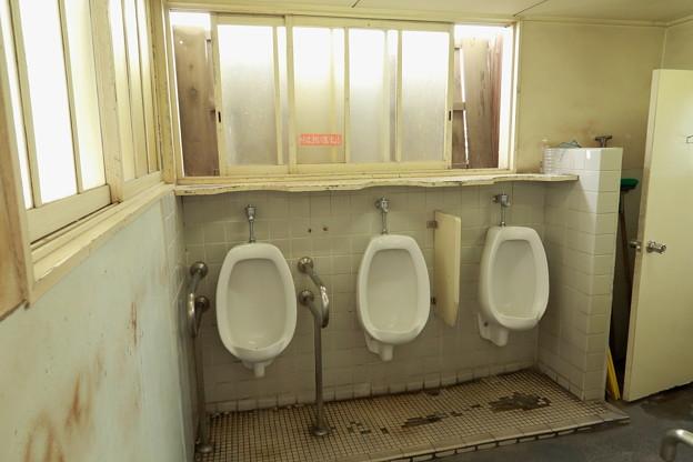 南海・蛸地蔵駅のトイレ