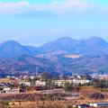 写真: 白石城天守閣からの展望