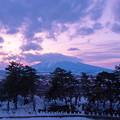 Photos: 岩木山夕景