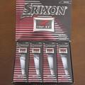 スリクソン NEW Z-STARXV ゴルフボール