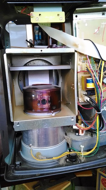 ファンヒーターの修理