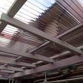 写真: 波板交換工事+軒延長2尺