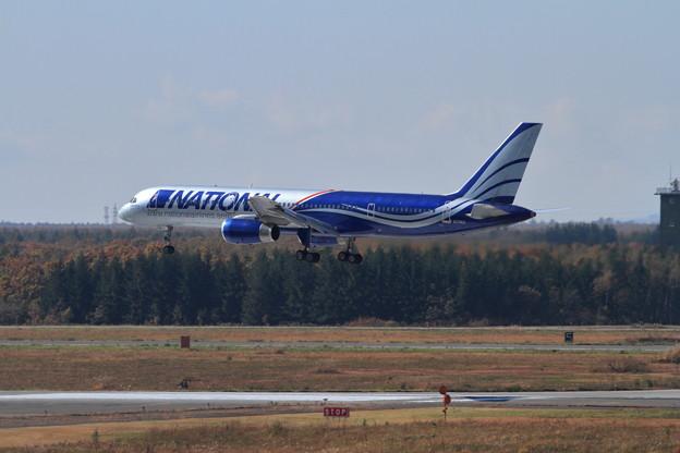 B757 N176CA landing