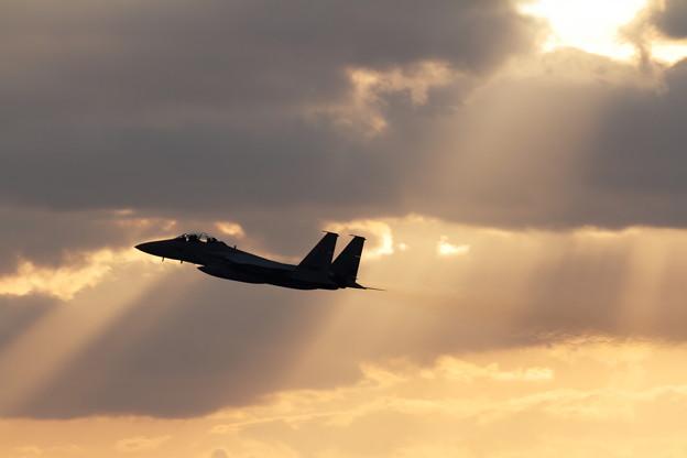 F-15 3回目のtakeoff