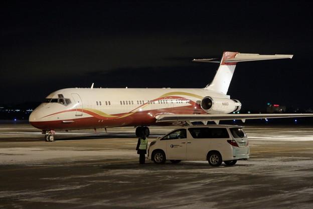 McDonnell Douglas MD-87 N168CF