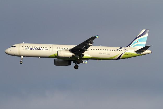 A321 HL7761 Air Busan