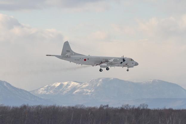 P-3C 5046 VP-1が飛来 1