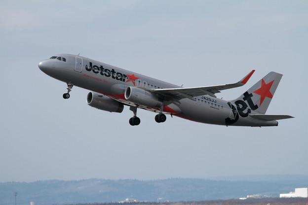 A320 JA20JJ takeoff
