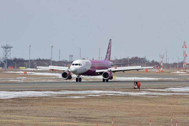 A320 雪解け進むCTS