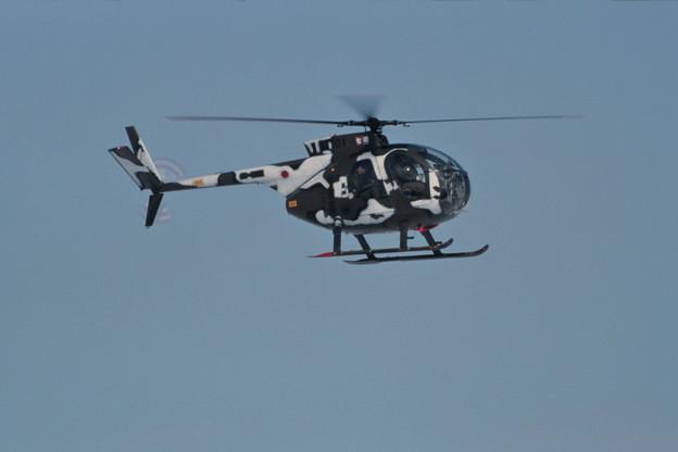 冬季迷彩 OH-6J 31101 [7飛] 1994.MAR 丘珠