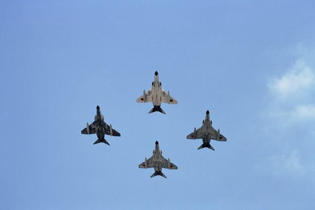 F-4EJ CTS基地祭 1982 4機編隊展示飛行