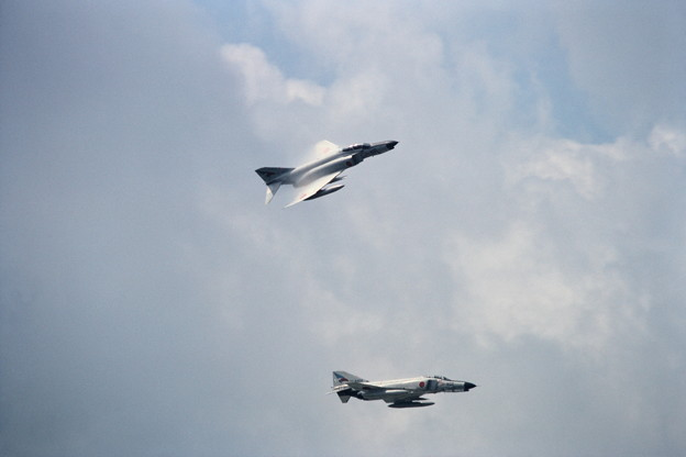 Photos: F-4EJ CTS基地祭 1983年 Formation break2