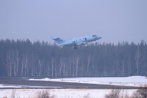 U-125A 022 訓練飛行へ