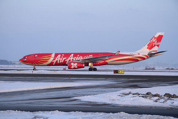 A330 XAX550 到着
