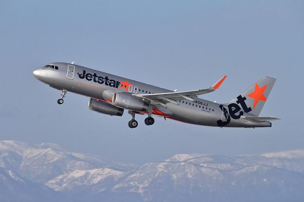 A320 Jetstar JA06JJ takeoff