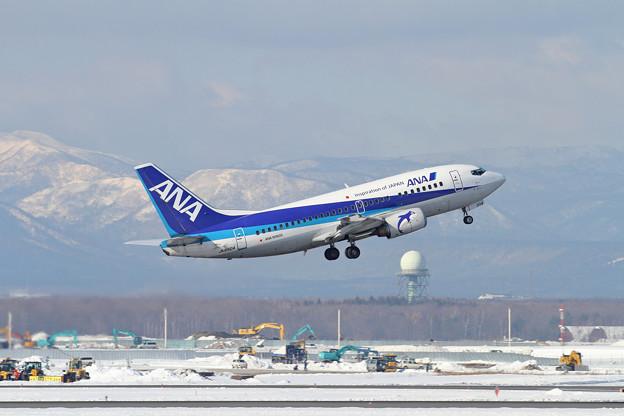 B737 ANA Wingsの古株JA8504