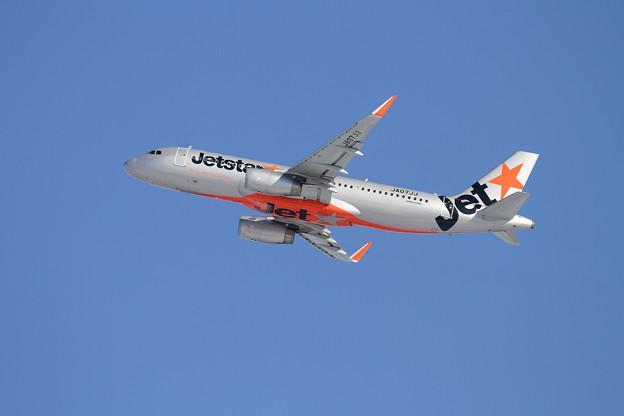 A320 雪レフのJetstar