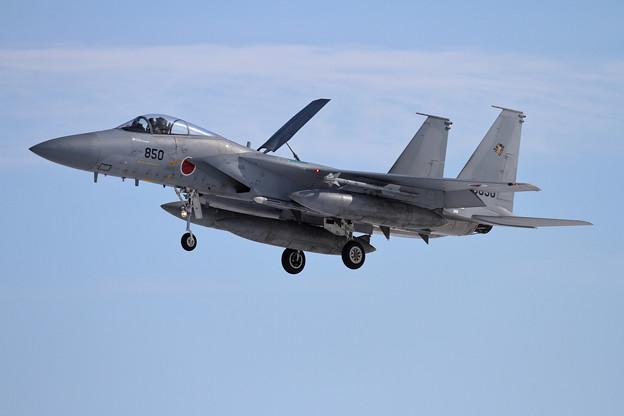 F-15J 850 201sq approach