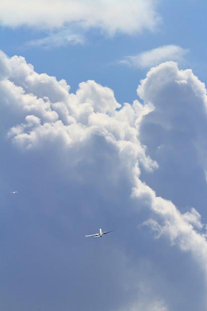 B737 冬晴れの空へ