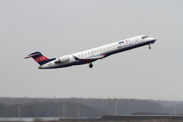 CRJ700ER IBEX JA11RJ takeoff