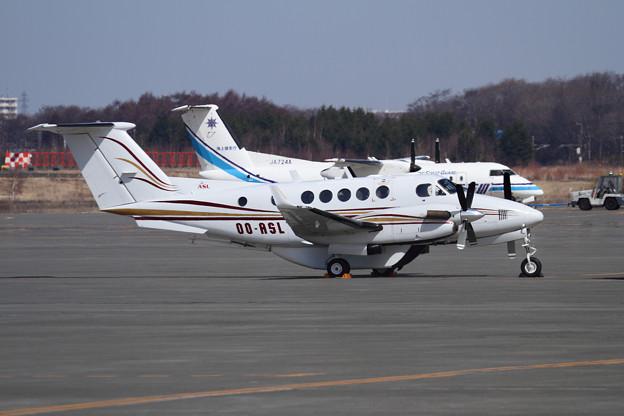 Beech B200C Super King Air OO-ASL