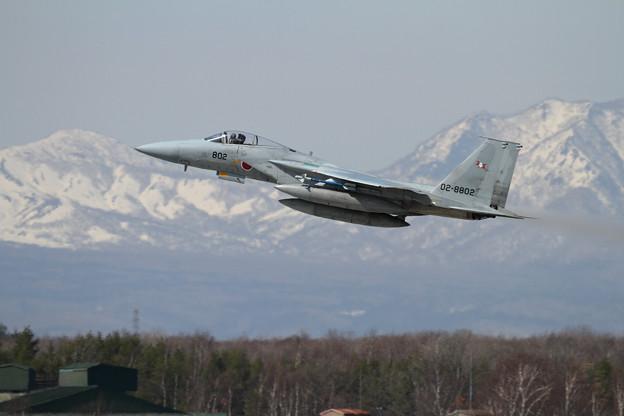 F-15J 802 203sq takeoff
