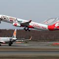 写真: A330 AirAsia X 10 xciting year 9M-XXF (1)
