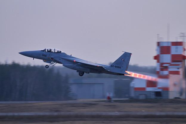 F-15DJ 066 203sq Night takeoff