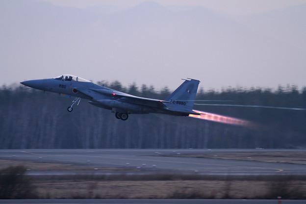 F-15J 880 203sq Night takeoff