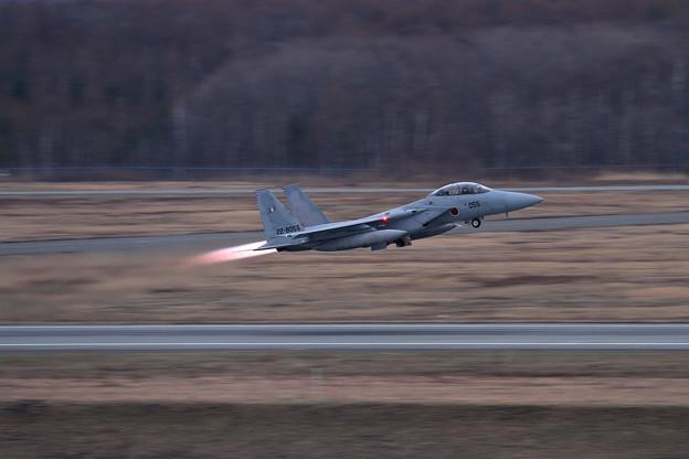 F-15DJ 055 203sq Night takeoff