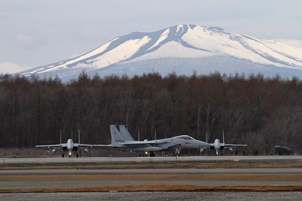 F-15 201sqと樽前山(2)