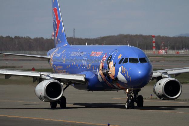 A320 CES Disney resort livery B-6635(2)