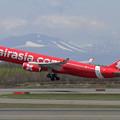 写真: A330 Thai AieasiaX HS-XTE takeoff