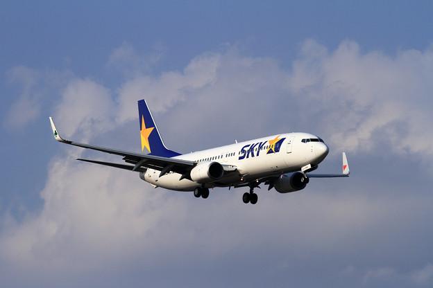 B737 SKY JA73NM approach