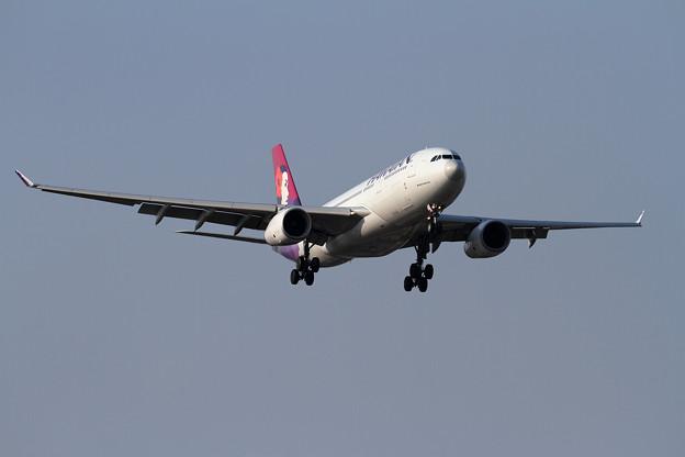 A330 HAL N375HA approach
