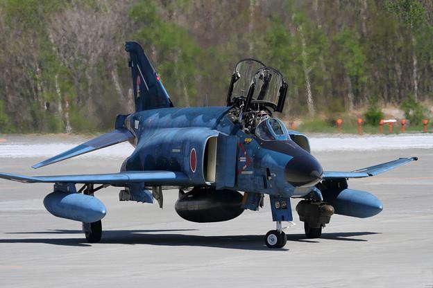 写真: RF-4E 913 501sq飛来 (3)