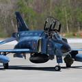 Photos: RF-4E 913 501sq飛来 (3)