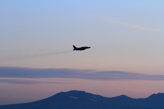 写真: T-4 203sq Night trainingへ