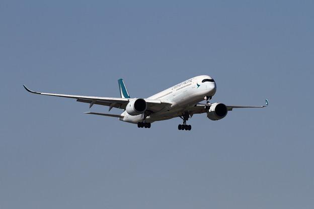 A350-9 CPA B-LRP 初飛来 (1)