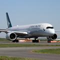 写真: A350-9 CPA B-LRP 初飛来 (4)