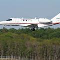 写真: Cessna 525 JCAB JA012G 飛行点検中