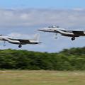写真: F-15 204sq formation approach